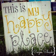 this is my happy place wood pallet sign by thecozeeshack on etsy