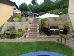 Gartengestaltung Terrasse Hang Terrassen Unterkonstruktion Am Hang 03 44 27 Egenis Com