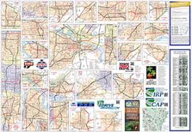 arkansa road map mapping tourist maps