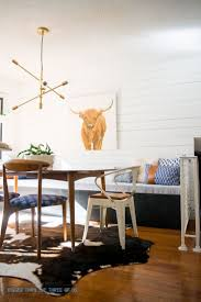 416 best dining rooms images on pinterest dining room dining modern and eclectic eat in kitchen reveal with a diy plank wall and diy bench small dining roomseclectic