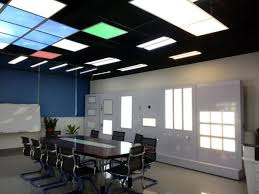 pixi led flat light installation ra office energy saving 1x4 pixi led flat light 36w 42w 48w 54w