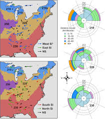 Harold Parker State Forest Map by Divergence Of Species Responses To Climate Change Science Advances