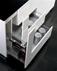 ergonomic kitchen cabinet with drawers