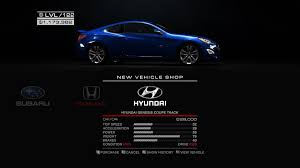 top speed hyundai genesis coupe steam community guide comprehensive car guide for grid