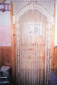 beaded curtains for arched doorways wood beaded arch door decor