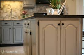 gray painted oak cabinets and kitchen makeover u2013 tuesday treasures
