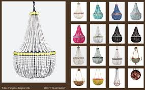 turquoise beaded chandelier five creative chandeliers interior design showcase the american