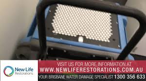 how to dry water damage kitchen cabinets and walls in brisbane