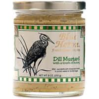 dill mustard blue heron cheese company blue heron dill mustard 9oz