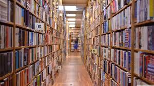 bookshelves hd desktop wallpaper widescreen high definition