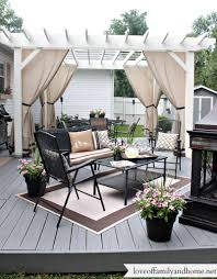 home dek decor back deck pergola reveal decorating ideas for your outdoor space