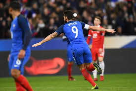 Triad Flag Football France 2 0 Wales Match Report Griezmann And Giroud Down Wales In