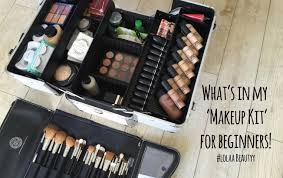 makeup kits for makeup artists starting to freelance my beginners makeup kit lolaa beautyy