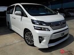 kereta vellfire 2014 toyota vellfire for sale in malaysia for rm228 000 mymotor