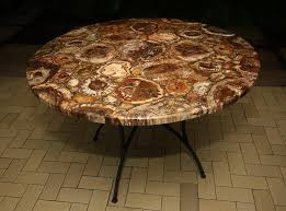 petrified wood dining table large petrified wood table table design very different petrified