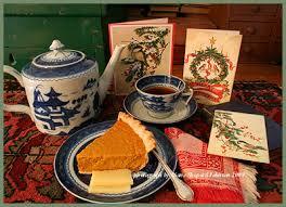 corgyncombe courant tudor cards at tea