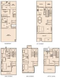 Cluster House Plans Plan And Elevation 2760 Sqfeet Kerala Home Design And Floor Plans