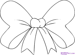 how to draw a hair bow step by step stuff pop culture free