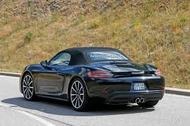 Porsche Boxster Base - 2016 porsche boxster refresh spied with hints to new powertrain
