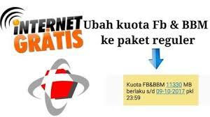 kuota bbm dan fb telkomsel cara mengubah kuota fb dan bbm menjadi kuota flash kuota internet