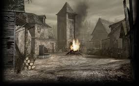background for halloween village image resident evil 4 biohazard 4 background re4 village jpg