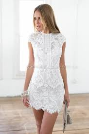 white dress white plain wavy edge lace dress white plains dresses dresses