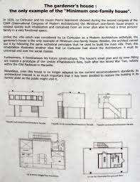carlitoslunch villa savoye gardener u0027s house le corbusier