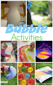 25 activities for national bubble week
