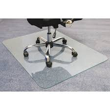 Chair Mat For Hard Floors Cleartex Glaciermat Glass Chair Mat