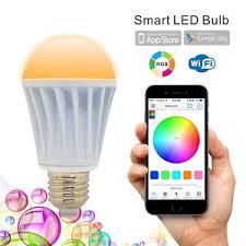 alexa controlled light bulbs flux wifi smart led light bulb works with alexa smartphone