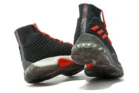 adidas crazy explosive adidas crazy explosive 2017 primeknit black red cheap for sale new