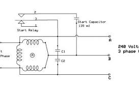 3 phase to single phase wiring diagram efcaviation com
