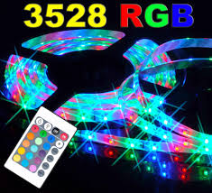 rgb led strip lighting buy rizclick pack of three rgb remote control led strip light