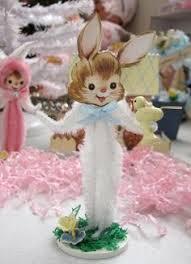 chenille easter easter bunny vintage inspired chenille easter bunnies easter bunny