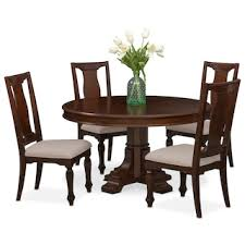 Shop Dining Room Furniture Value City Furniture Value City - Round dining room tables for 4