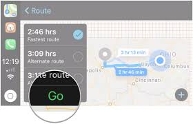 How To Save Route On Google Maps by How To Get Directions And Use Apple Maps With Carplay Imore