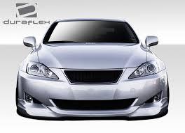 white lexus is 250 2008 lexus is series front bumpers bodykitz com