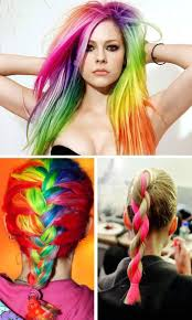 Cheap Thick Clip In Hair Extensions by Sale Multi Color Women U0027s Long Straight Synthetic Clip In Hair