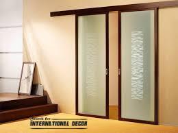 sliding kitchen doors interior popular sliding door interior for how to build a reclaimed wood