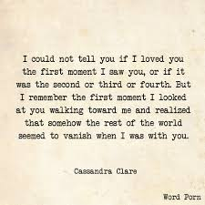 quotes about reading cassandra clare 15 word quotes that sum up everything you want your one true
