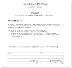 create a simple invoice template in word techrepublic
