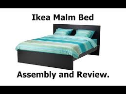 ikea malm bed assembly and review ytwp ikea youtube