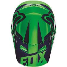 youth motocross helmets fox racing 2016 youth v1 race helmet flo green available at