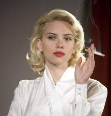 edgy haircuts women 40 s scarlett johanssons 40s styled blonde hair from the black dahlia 1