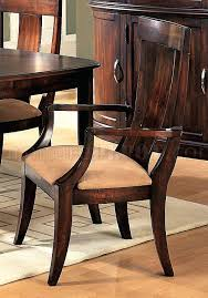Microfiber Dining Room Chairs Cherry Formal Dining Room Set W Microfiber Seats Formal Dining