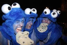 cookie monster halloween costume 14 last minute halloween costume ideas