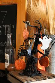 how to make spooky halloween trees spooky halloween mantel and banner honeybear lane