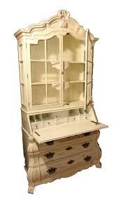 Drop Lid Secretary Desk by Dorothy Draper Bombe Secretary Desk By Henredon Restoration Shed