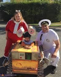 Wall Halloween Costume Family Costume