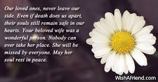 Message For Comforting A Friend Sympathy Messages For Loss Of Wife